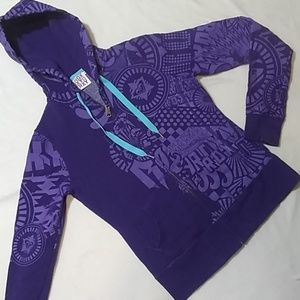 Roxy Full Zip Hoodie Sweatshirt